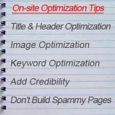 on page SEO tips for blogs