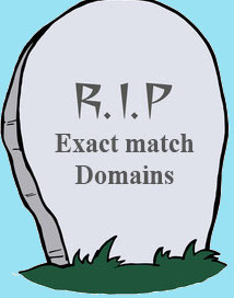 google exact match domain