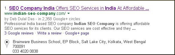 Indian SEO Company-Local