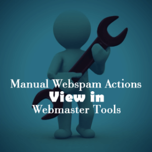 manual webspam action