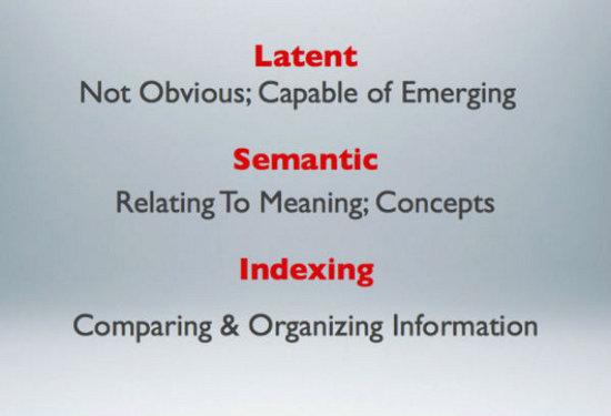 latent-semantic-indexing
