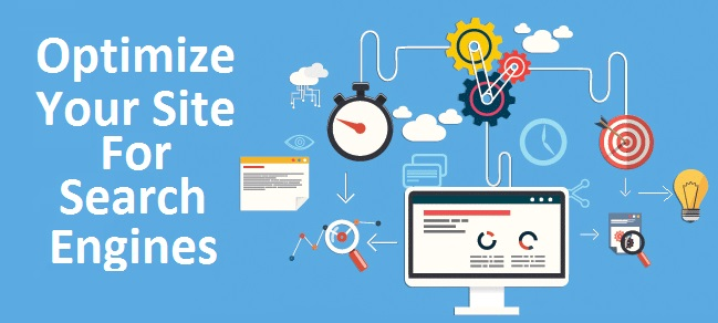 Optimize Site for search engines