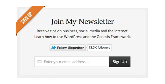 subscribe to your newsletters
