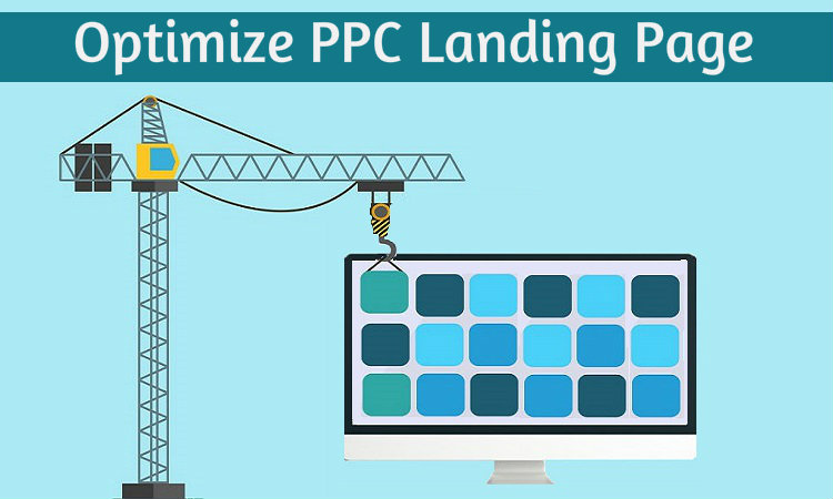 optimized PPC landing page