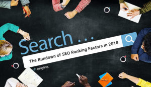 Ranking Factors in 2018